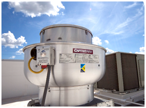 Roof Mounted Exhaust Fan