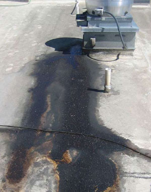 rooftop grease spills