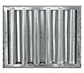 Galvanized Hood Filters