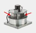Exhaust Fan Wheel Assemblies