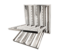 Hinged Stainless Steel Hood Filters