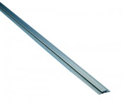 Stainless Steel Divider Bar w/ Galvanized Back Plate