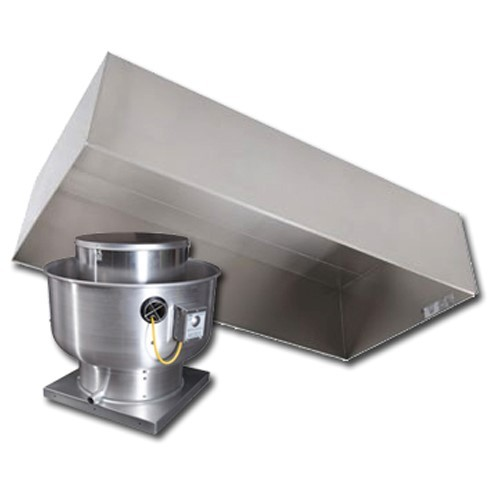 Type 2 Exhaust Hoods ~ Type condensate hood and fan package