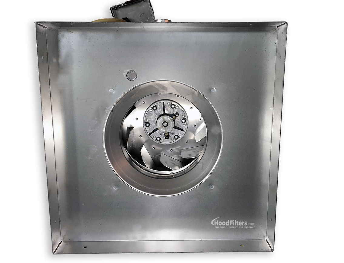 300 500 Cfm Direct Drive Upblast Food Truck Exhaust Fan