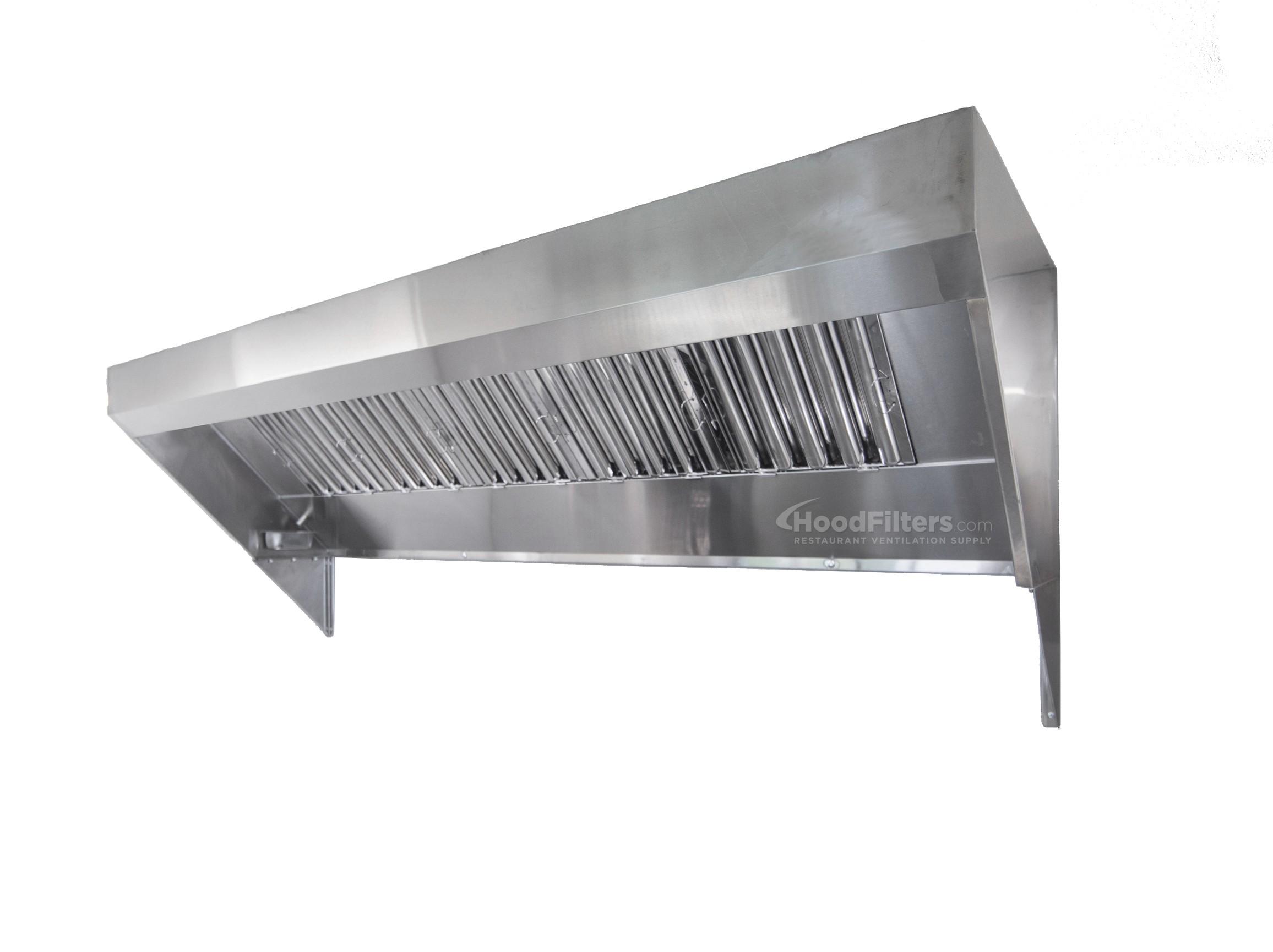 6\' Food Truck Hood System