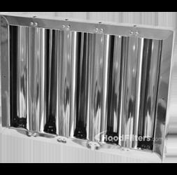 aluminum baffle filters