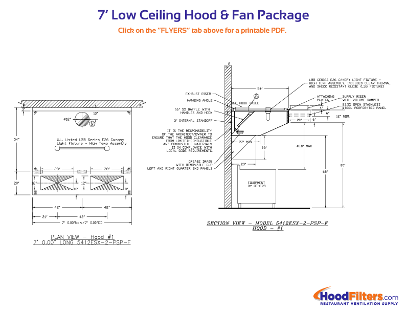 Range hood fan wiring diagram wikishare 7 low ceiling hood and fan package the complete guide to upblast exhaust fans swarovskicordoba Images
