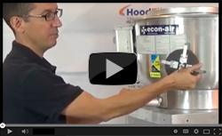 Restaurant Exhaust Fan Access Port Tutorial - Video