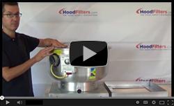 Food Truck Exhaust Fan Tutorial - Video