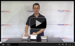 Exhaust Hood Grease Cups - Video