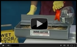 Grease Gutter Boom Demo - Video