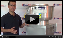 How To Choose The Right Commercial Kitchen Exhaust Fan - Video