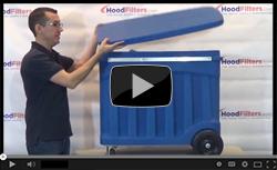 What is a Heavy Duty Hood Filter Soak Tank? - Video
