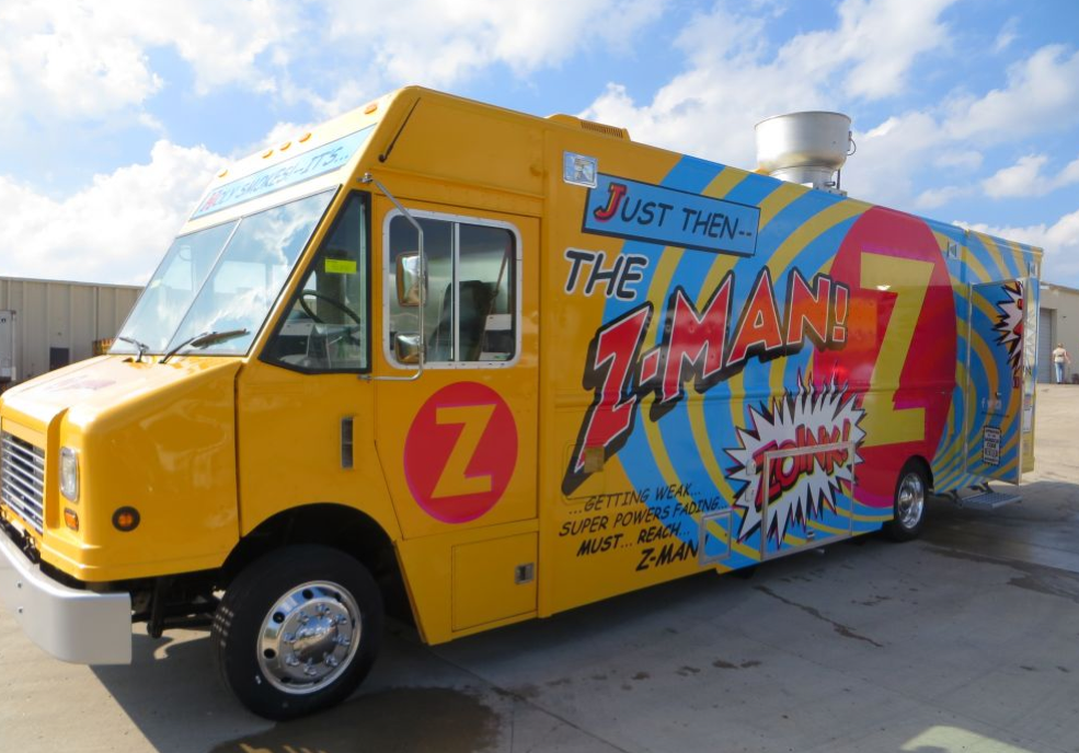 how to mount an exhaust fan on a food truck