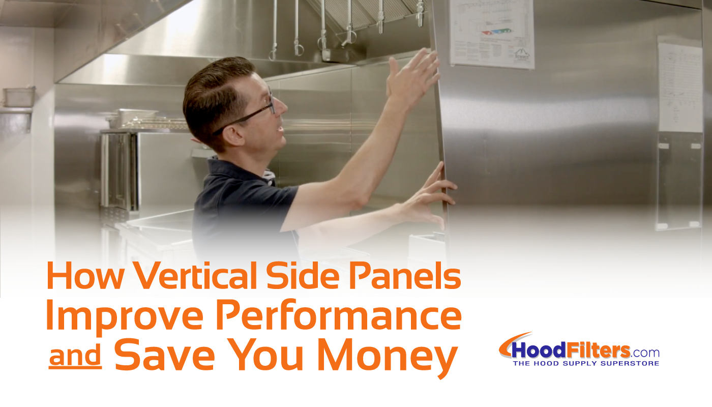 Commercial Kitchen Vent Hood Side Panels Field Wrappers
