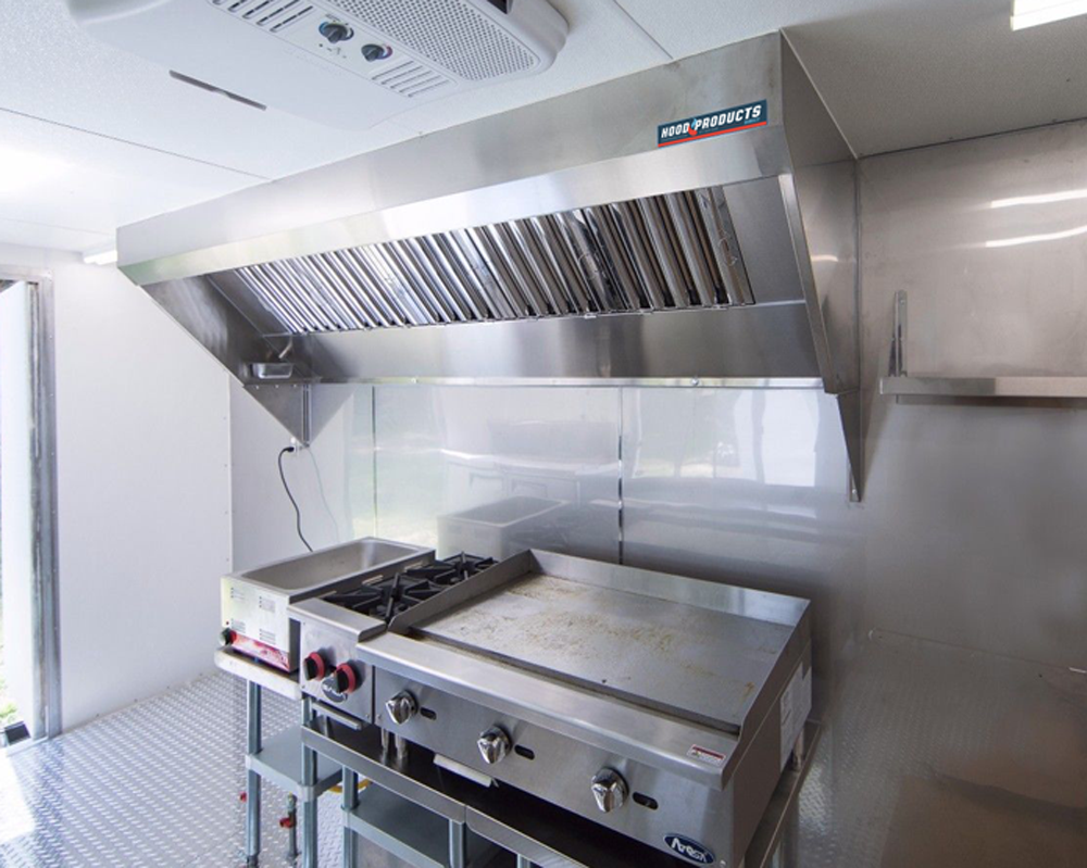 Food Truck Exhaust Hood and Fan Systems