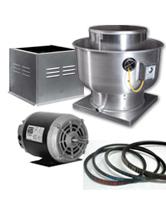 Rooftop Exhaust Fans & Accessories