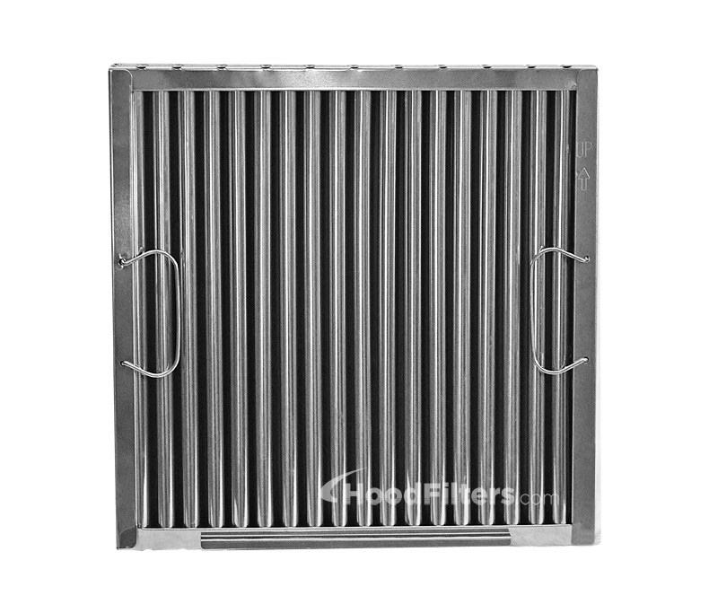 Captive Aire Systems Stainless Steel Restaurant Hood Filter 16 high x 20 wide