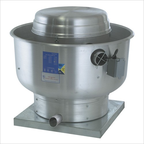 Direct Drive Centrifugal Exhaust Fans : Cfm direct drive upblast exhaust fan with quot wheel