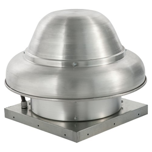1600 Cfm Direct Drive Downblast Exhaust Fan With 13 75