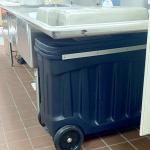 Heavy Duty Hood Filter Soak Cart