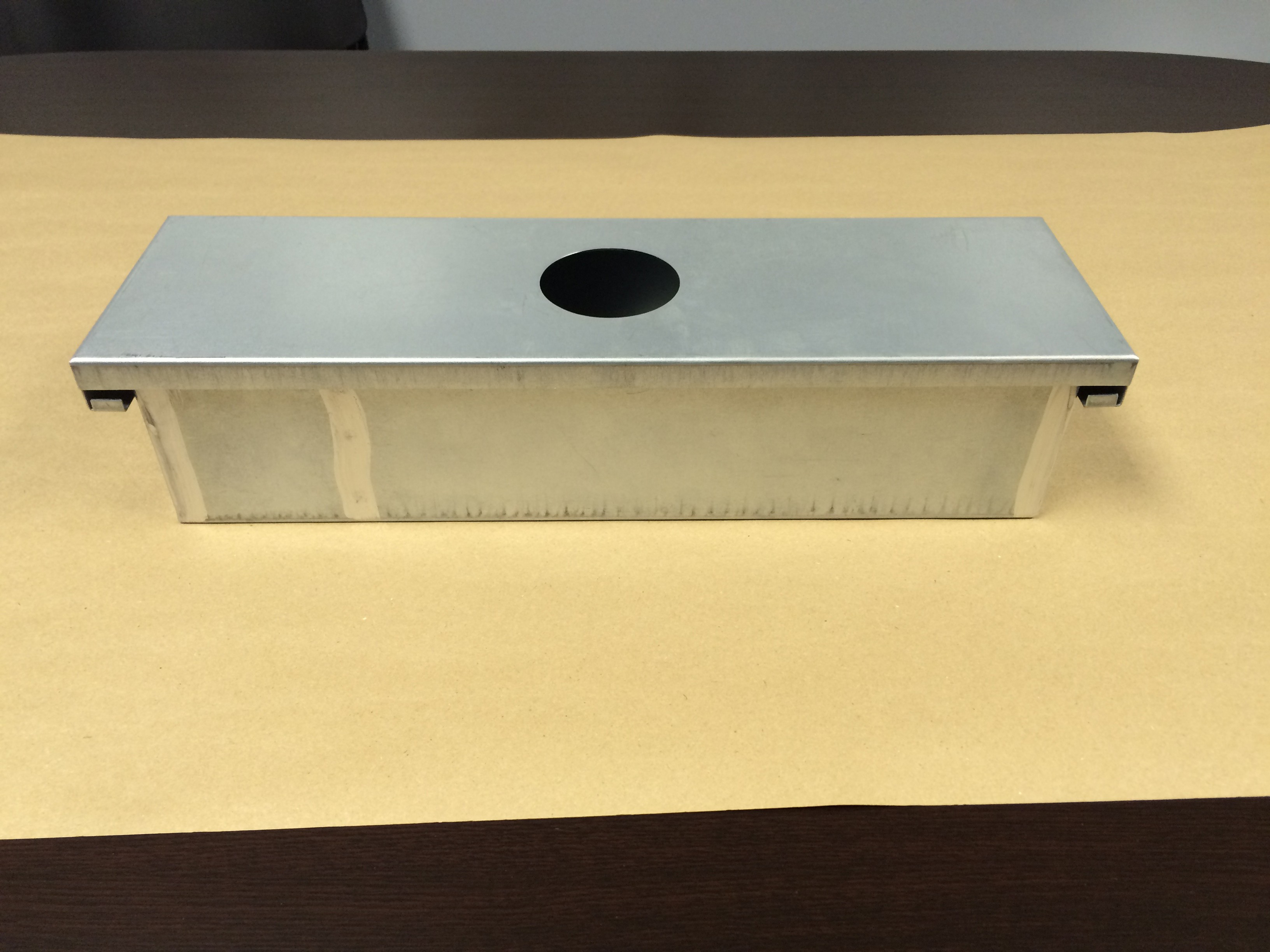 Exhaust Fan Grease Box Includes Down Spout