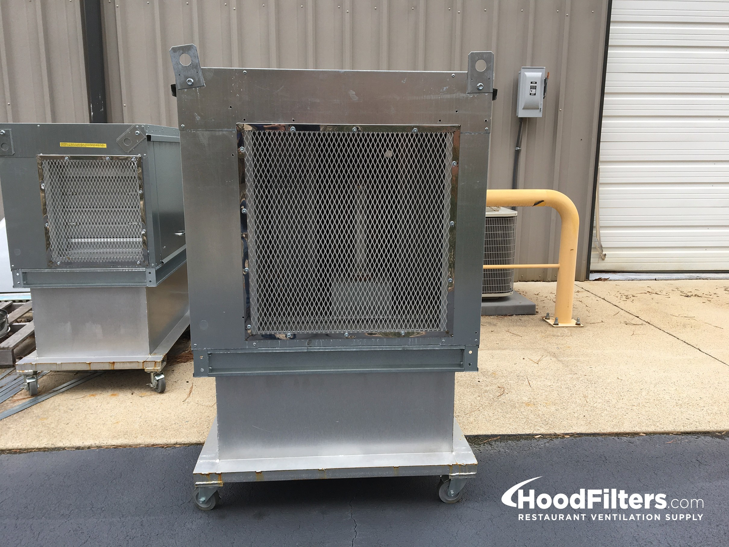 Heated Make Up Air Supply Unit 18 Quot Blower 12 Quot Burner
