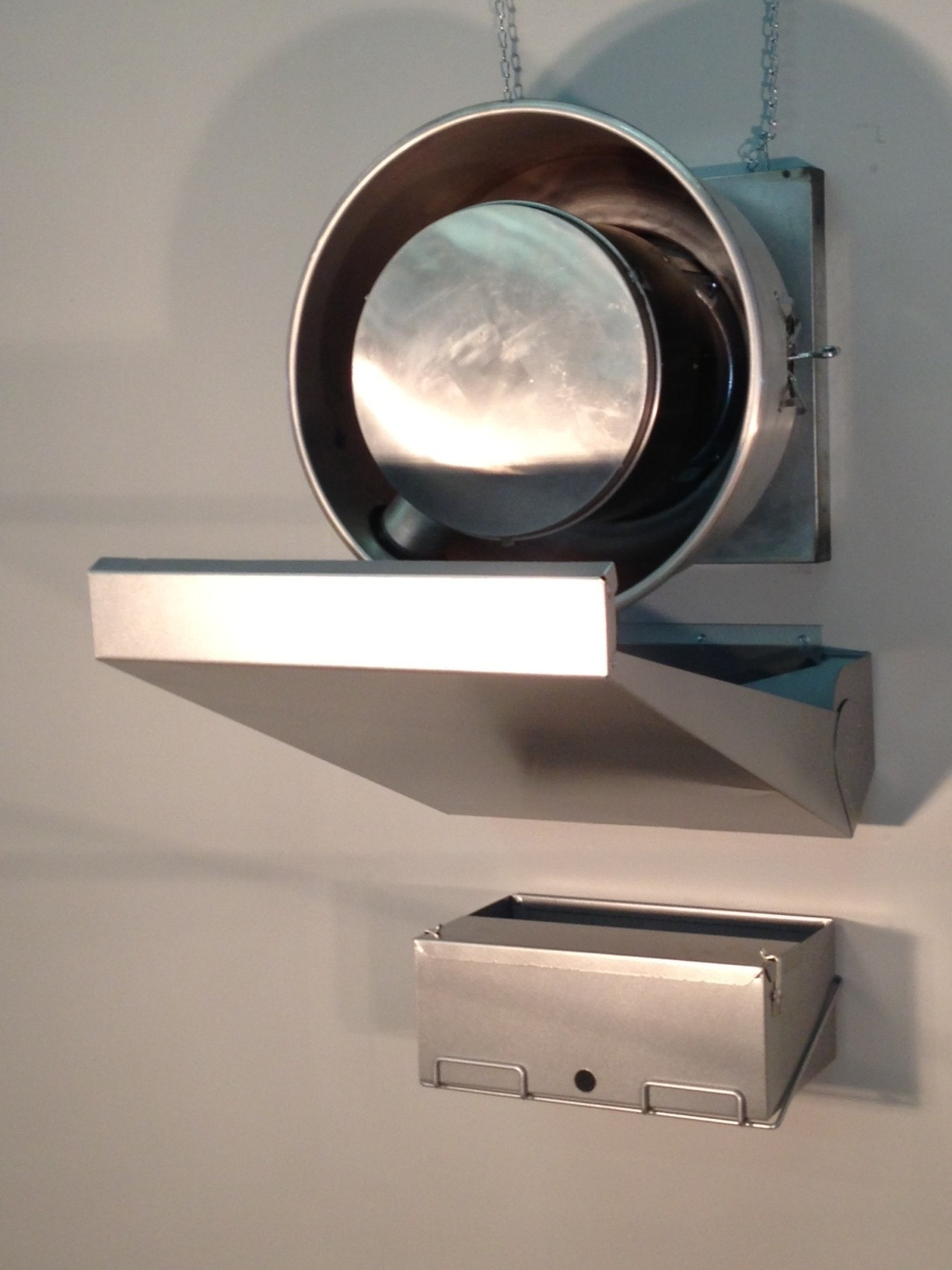 Deluxe Wall Mount System For Side Mount Fans
