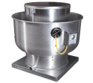 Upblast Exhaust Fans - 400-1000 CFM Direct Drive Upblast Exhaust Fan with Speed Controller (.25 HP / 115 V / Single Phase)