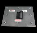 """Duct Access Doors - 6"""" x 6"""" Ductmate ULtimate Access Door - Black Iron"""