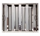 """Economy Stainless Steel Hood Filters - 16"""" x 20"""" x 1.5"""" Economy Stainless Steel Hood Filter"""
