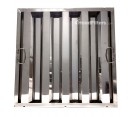 """Economy Stainless Steel Hood Filters - 20"""" x 20"""" x 1.5"""" Economy Stainless Steel Hood Filter"""