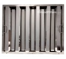 "Economy Stainless Steel Hood Filters - 20"" x 25"" x 1.5"" Stainless Steel Hood Filter"