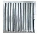 "Standard Galvanized Grease Filters - 20"" X 20"" X 2"" Kleen Gard Galvanized Hood Filter (Riveted / Smooth Baffles)"
