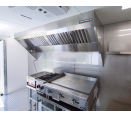 Food Truck Exhaust Hood and Fan Systems - 8' Food Truck and Concession Trailer Hood System with Exhaust Fan