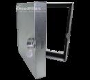 "General Air Duct Access Doors - 16"" x 16"" Ductmate Low Pressure Square Framed Access Door - Hinge & Cam Latch"