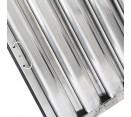 """Kleen Gard Filters with Riveted Bottom Hooks - 16"""" X 16"""" X 2"""" Kleen Gard Stainless Steel Hood Filter with Riveted Bottom Hooks & Bail Handles - 3/8"""" Undersized"""