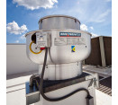 Upblast Exhaust Fans - 300-500 CFM Direct Drive Upblast Exhaust Fan with Speed Controller (.18 HP / 115 V / Single Phase)
