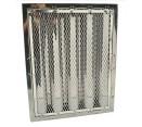 """Spark Arrestor Hood Filters - 20"""" x 16"""" x 2"""" Spark Arrestor Hood Filter with Riveted Bottom Hooks"""