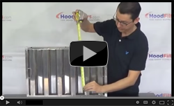 How To Measure Hood Filters - Video