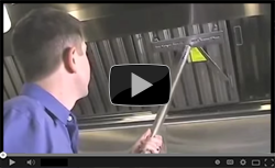 How To Remove Exhaust Hood Filters Safely - Video